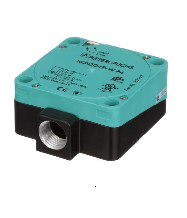 Sensor inductivo NCN50-FP-W-P4- pepperl fuchs