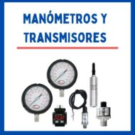 Manómetros / Transmisores