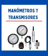 MANOMETROS / TRANSMISORES