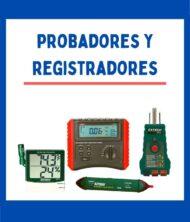 PROBADORES / REGISTRADORES