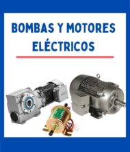 BOMBAS / MOTORES ELECTRICOS